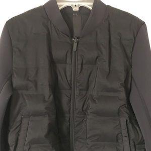 Lululemon Women's Black Reversible Down Coat Sml
